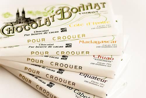 Tabliczki od Chocolat Bonnat