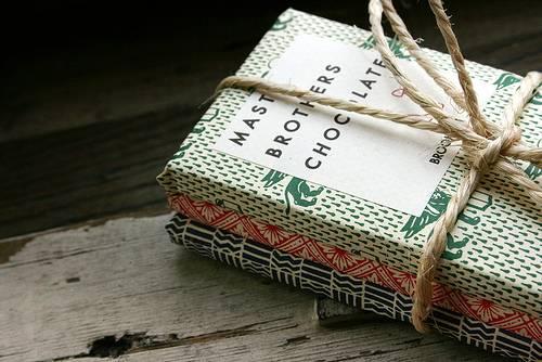 Tabliczki czekolady od Mast Brothers z Brooklynu