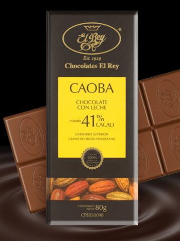 Chocolates El Rey Caoba - najlepsza ciemna czekolada według ICA America 2015
