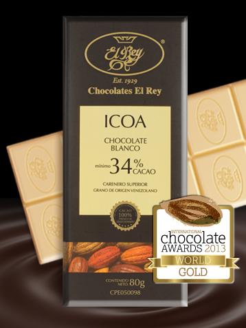 Chocolates El Rey Icoa - najlepsza biała czekolada na świecie?