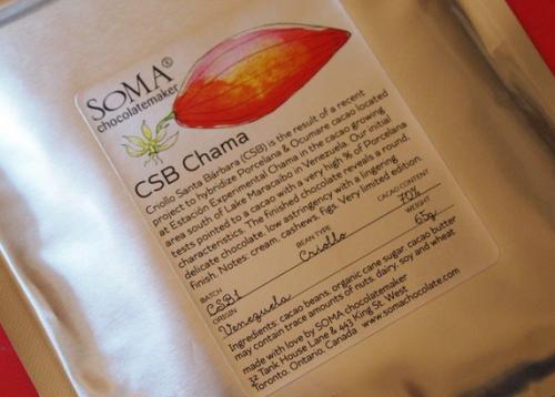 Soma CSB Chama - bardzo limitowana najlepsza ciemna czekolada