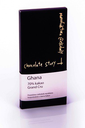Manufaktura Czekolady Chocolate Story Ghana 70 Grand Cru